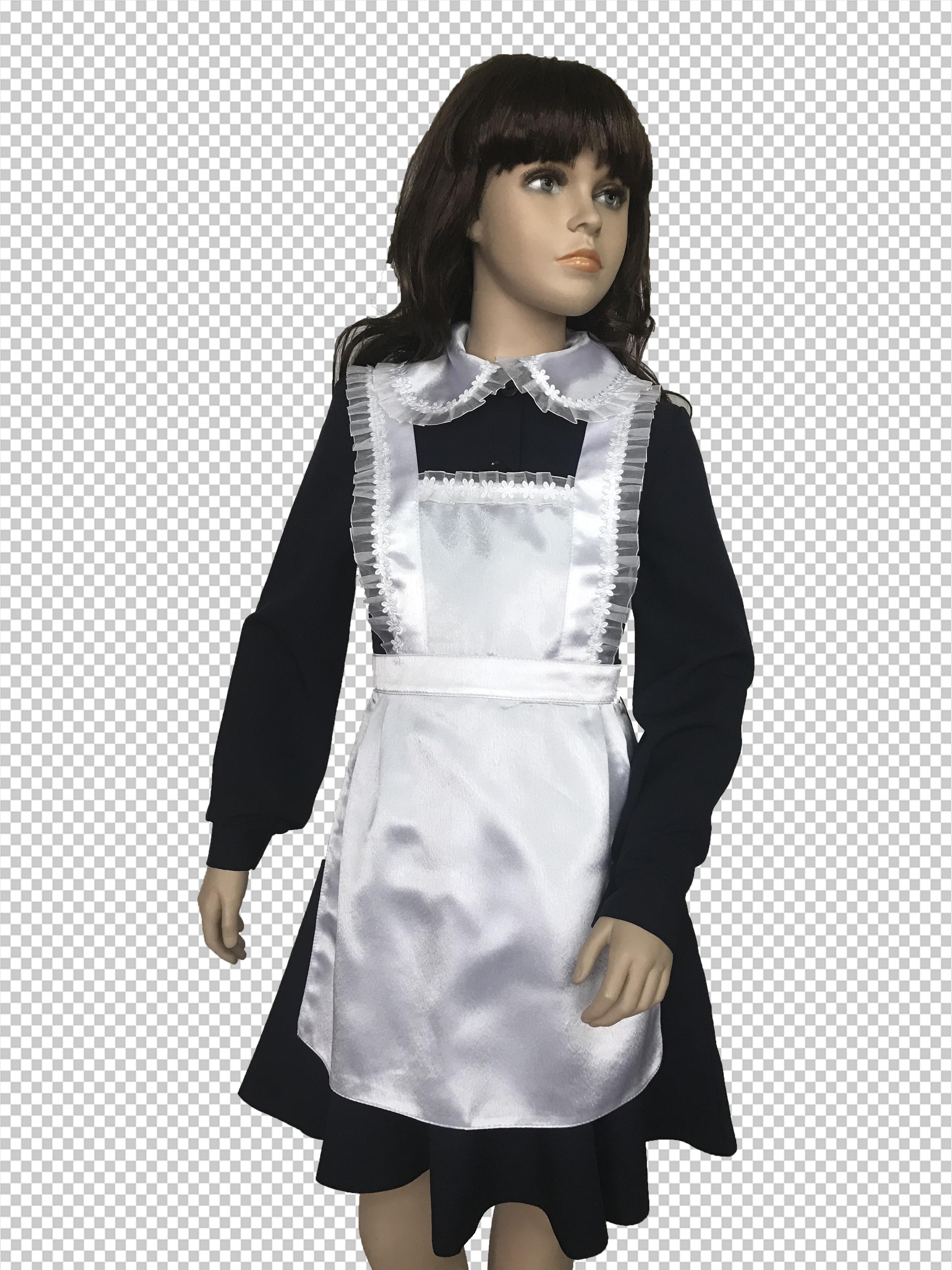 Костюм (платье и фартук) 1201/1198/1 Б